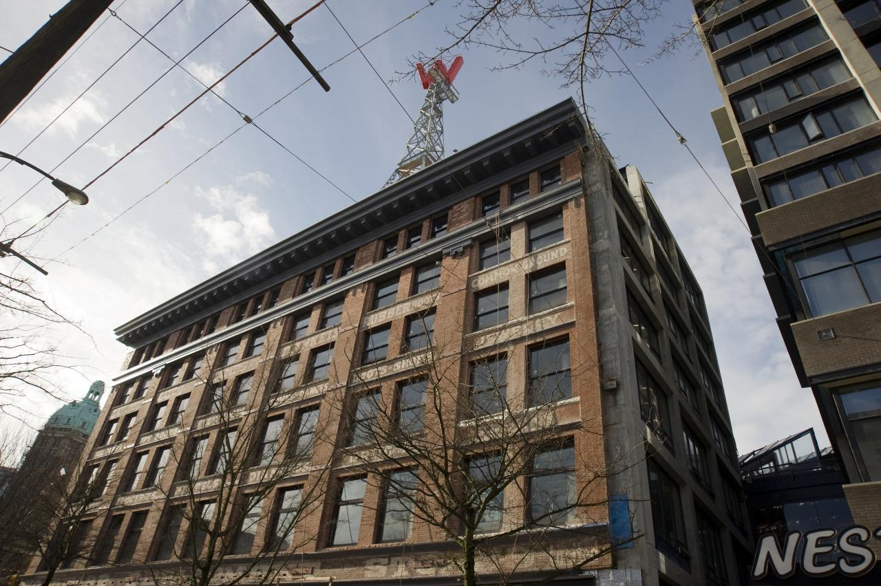 Woodward S Heritage Building Itc Construction Group